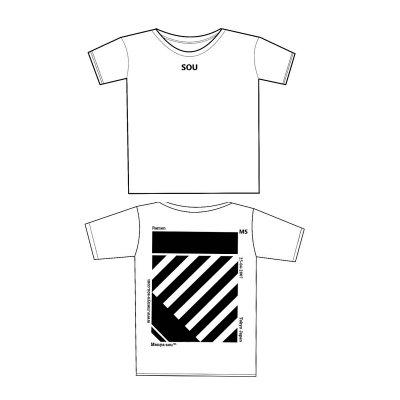 【3/3~15日販売!限定30枚】麺屋宗11周年記念『MENYA SOU Tシャツ』【2018/4/1~15 店頭受け渡し専用】