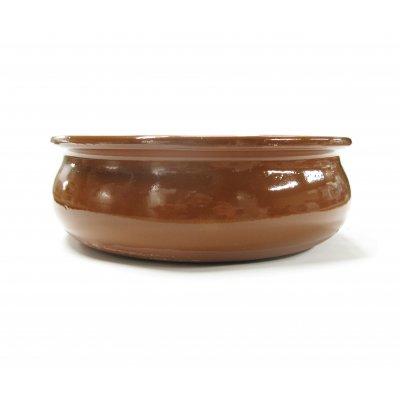 スペイン伝統の耐熱陶器 カスエラ OVAL 18cm (深めタイプ)の画像1
