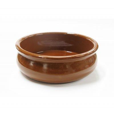 スペイン伝統の耐熱性陶器 カスエラ OVAL 15cm (深めタイプ)の画像1