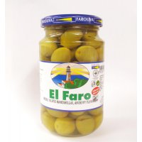 【NEW】マンサニージャ種(中粒・種有り)WHOLE OLIVES MANZANILLAS ANCHOVY FLAVOURED