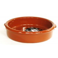 スペイン伝統の耐熱陶器 カスエラVC13cm(取っ手なしタイプ)