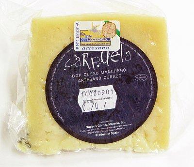 【クール便】スペイン産マンチェガ羊のチーズ MANCHEGO D.O.P 約290g
