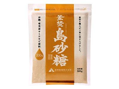 釜炊島砂糖500g/お料理にぴったり!