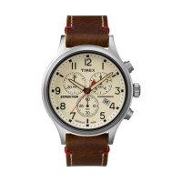 タイメックス スカウト クロノ メンズ 腕時計 TW4B04300 アイボリー