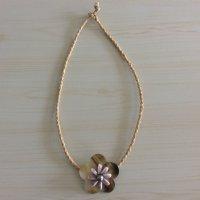 【タヒチから輸入♡】黒蝶貝のシェルと黒真珠のネックレス ¥3400