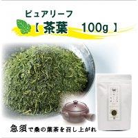 【急須タイプ】【茶葉100g】ハンさんのおいしいくわ茶ピュアリーフ