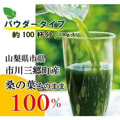 【パウダータイプ】神秘麗の龍神桑茶パウダー100g