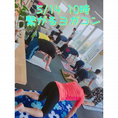 5/14 10時より❤️繋がるヨガコン★男女でペアヨガ