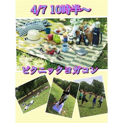 4/28【女性お申込み】ピクニックヨガコンの画像1