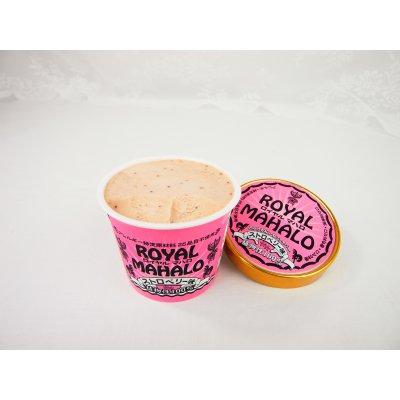 お腹に優しいアイス《ロイヤルマハロストロベリー》ローストした安納芋で作った植物素材100%のアイスです