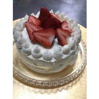 誕生日ケーキに!お祝い事に!ホールケーキキット/小麦・卵・乳成分不使用【冷凍】