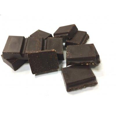 乳酸菌&ファイバーチョコレート 乳・小麦成分不使用 辻安全食品初の機能性を持たせたチョコレートです。の画像1