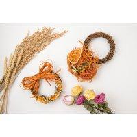 手作り用リースキット(オレンジ)