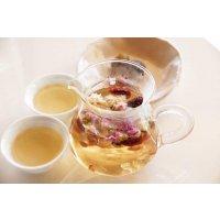 オリジナル漢方茶作りとプチプリザーブドフラワーアレンジ体験