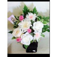 白菊のお供え花