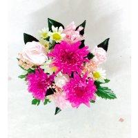 ピンク系のお供え花