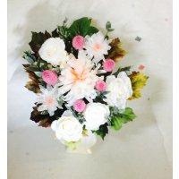 ミルフィーユ輪菊とことね菊のお供え花