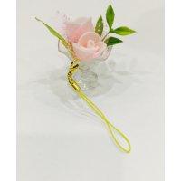 ミニ薔薇のストラップ【9/9・10  なおっちマルシェ専用】