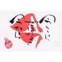 書家詩人 宗明オリジナルポストカード No.21 今さらではなく今から