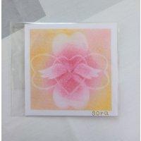 ヒーリングアート「天使ちゃん」パステル画 ラブ 〜 原画・メッセージカード付き