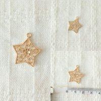 アンティークパーツ  星  チャーム素材 金属パーツ | 手芸ハンドメイド