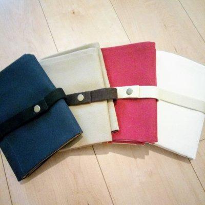 【試作版セール】無地タイプ  | ボイジャータロット6ポケットケース 【 カラー全2色 | 紺 カーキ色 】の画像1