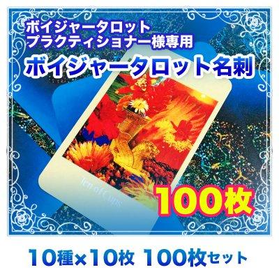 【名刺】ボイジャー名刺 100枚セット (10種類×10枚) ※送料無料