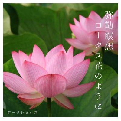 那須シズノ 弥勒瞑想〜ロータスの花のように〜ワークショップ in Tokyo 2017  4/26(水)…新月の祈り…