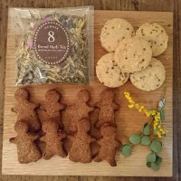 【オーガニック・ヴィーガン】クッキーアソート2種+ブレンドハーブティー(小)