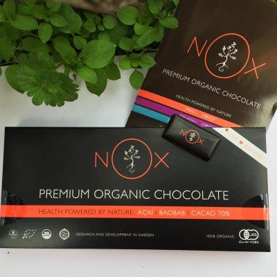 【食べた方がいいチョコレート】NOXプレミアムオーガニックチョコレート~バオバブ&アサイ~