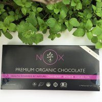 【食べないより食べた方がいいチョコレート】NOXプレミアムオーガニックチョコレート~バオバブ&クランベリー~