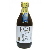 心のぽん酢 有機純米コシヒカリ静置発酵酢使用 360ml