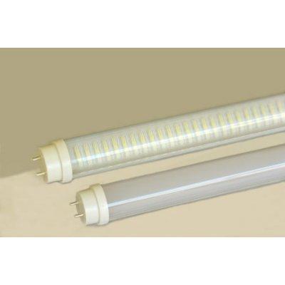 LED蛍光灯管63cm 13W 昼光色 乳白色カバー 口金回転 スタータ(グロー)器具改造不要(LT-DF13W2R)の画像1