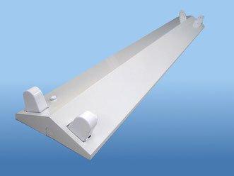 LED直管用器具 120cm 2灯用 逆富士型(NL-FV402)の画像1