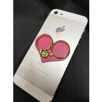 ◆めっちゃ便利!!◆iPhone スマホ★固定式セーフティーリング♪全2色
