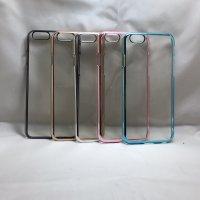 ■送料無料■iPhone6/6s★対応★光沢エッジ透明ハードケース♪ B-078