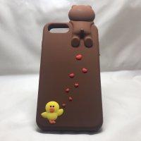 ■送料無料!!■新作入荷!!■iPhone7PLUS対応★癒し系の可愛いケース(^^♪ソフトケース♪シリコンケース