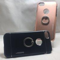 ■送料無料■iPhone7★対応★りんごマークでるょ♪便利なセーフティーリング付きケース♪