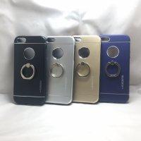■送料無料■iPhone5/5s★対応★りんごマークでるょ♪便利なセーフティーリング付きケース♪全4色
