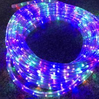 NEW!!格安LEDロープライト(オーロラ)直径11mm取扱い始めました!!ショップや自宅アプローチ縁取りにオス...