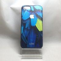 ■送料無料■iPhone7★対応★背面リンゴが光るアニマル柄ケース♪ C-057