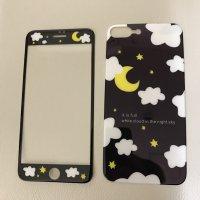 ■送料無料◆iPhone7plus対応◆可愛らしい夜空モチーフプリントのプロテクターカバー◆ No.631