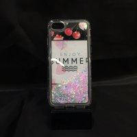 ■送料無料■iPhone7★対応★キラキララメのクリアソフトケース♪ 7-44