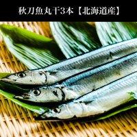秋刀魚丸干(3本)北海道産