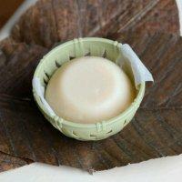 超濃厚豆乳とピュアオイルだけで手作りしました♪自然派ありが豆乳石鹸®