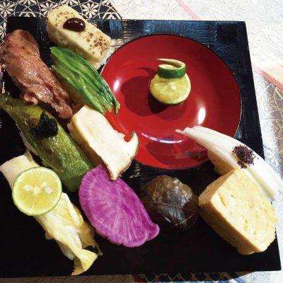 元祖京野菜すし ランチ( 要予約 11:00 〜 )
