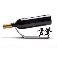 期間限定ポイント増量中|ワインの季節♡希少!♡ワインボトルホルダー|ブラック【並行輸入品】