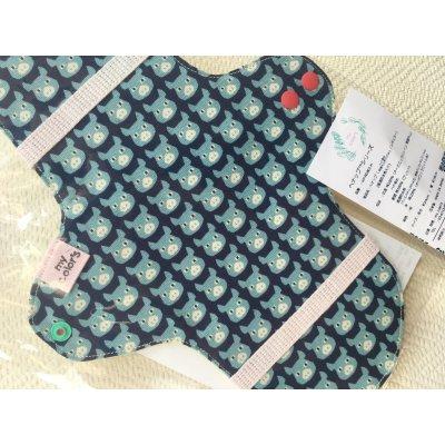 布ナプキン レギュラータイプ(透湿防水布入り)ヘナ染め:1枚の画像1