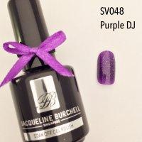 【セルフネイルに簡単!】カラージェル SV048 Purple DJ