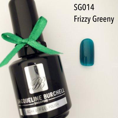 【セルフネイルに簡単!】カラージェル SG014 Frizzy Greeny